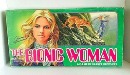 Vintage 1976 The Bionic Woman Board Game Parker Brothers Incomplete - $22.99