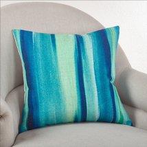 """Fennco Styles Blue Lagoon Ombr Throw Pillow, 2 Sizes (20""""X20"""" Square) - $36.62"""