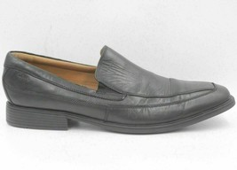 Clarks Men Soft Cushion Insole Slip On Loafers Size US 13M Black Leather - $32.92