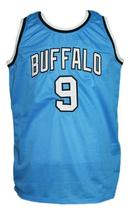 Randy Smith Buffalo Braves Aba Retro Basketball Jersey New Sewn Blue Any Size image 4