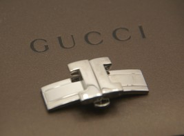 Gucci Replacement Clasp - 8900 M Watch Bracelet - All SilverTone - VG - $59.95
