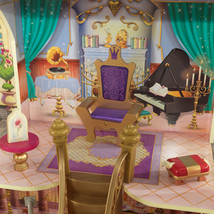 Disney Princess Belle Enchanted Dollhouse w/Furniture and Accessories image 5