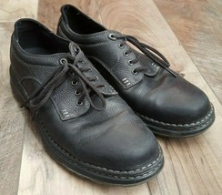 Men's Timberland Casual 29512 Black Leather Shoes Size 11 M - $75.70 CAD