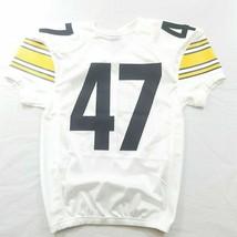 Nike Boys Football Jersey White Yellow Black Medium Stitched Numbers - $35.99