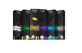 60 Pods Variety pack ROSSO CAFFE Compatible W/ Nespresso original line m... - $29.69