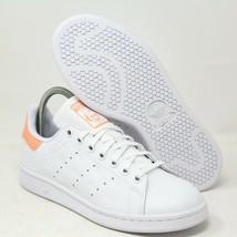Adidas Originali Stan Smith Tennis Sneaker Bianco Brilla Rosa Taglia USA... - $89.65