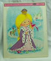 Antique Vintage 1967 PRINCESS Whitman Preschool FRAME TRAY PUZZLE  - $14.85
