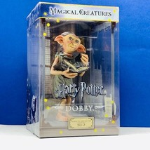 Harry Potter Magical Creature Noble Collection sculpture 2 Dobby house e... - $49.45