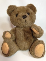 "Russ Buckingham Teddy Bear Plush Brown Jointed Stuffed Animal 14"" Korea ... - $39.99"
