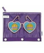 5x Yoobi™ Binder Zip Cases SUNGLASSES FIVE NEW Bags + 5 Bic Gel-ocity PE... - $17.64