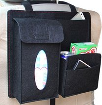 PANDA SUPERSTORE Multi-Pocket Travel Storage Bag Car Accessories Car Seat Organi