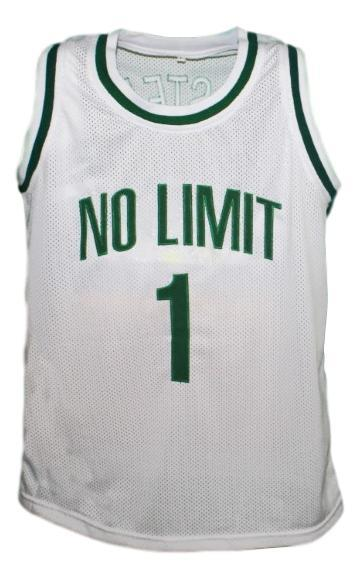 Master p  1 no limit basketball jersey white   1