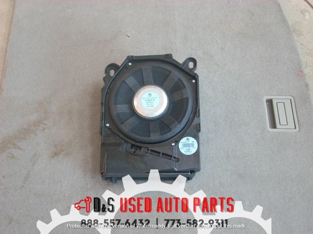 2009 BMW 328I RADIO SPEAKER COMPLETE SUBWOOFER 61928910