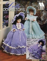 "Dolly Doorstops or Pajama Bags 5 Designs Annie's 8"" Doll Crochet PATTERNS - $4.47"