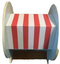 Horizon Wood Snail Mail Blue Post Office House Decor image 3