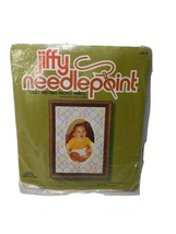 Sunset Designs Jiffy Needlepoint Kit 5616 Quilt Pattern Photo Frame 6.5 ... - $10.82