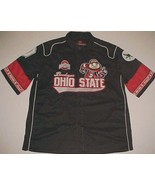 Ohio State Buckeyes NCAA Big Ten Brutus Buckeye JH Design Black Red Shir... - $69.29