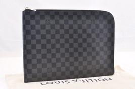 Louis Vuitton Damier Color Grafite Pochette Jules GM NM Slip Case N64437 6517 - $691.21
