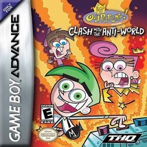 Fairly OddParents: Clash With the Anti-World (Nintendo Game Boy Advance, 2005) - $3.85