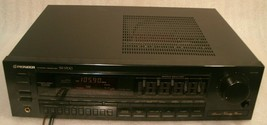 """PIONEER SX-1700 Receiver, Has power but no sound!! parts or repair, sold """"AS IS"""" - $18.58"""