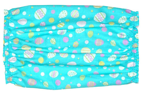 Dog Snood Robins Egg Blue Pink Yellow Easter Eggs Cotton Size Puppy SHORT