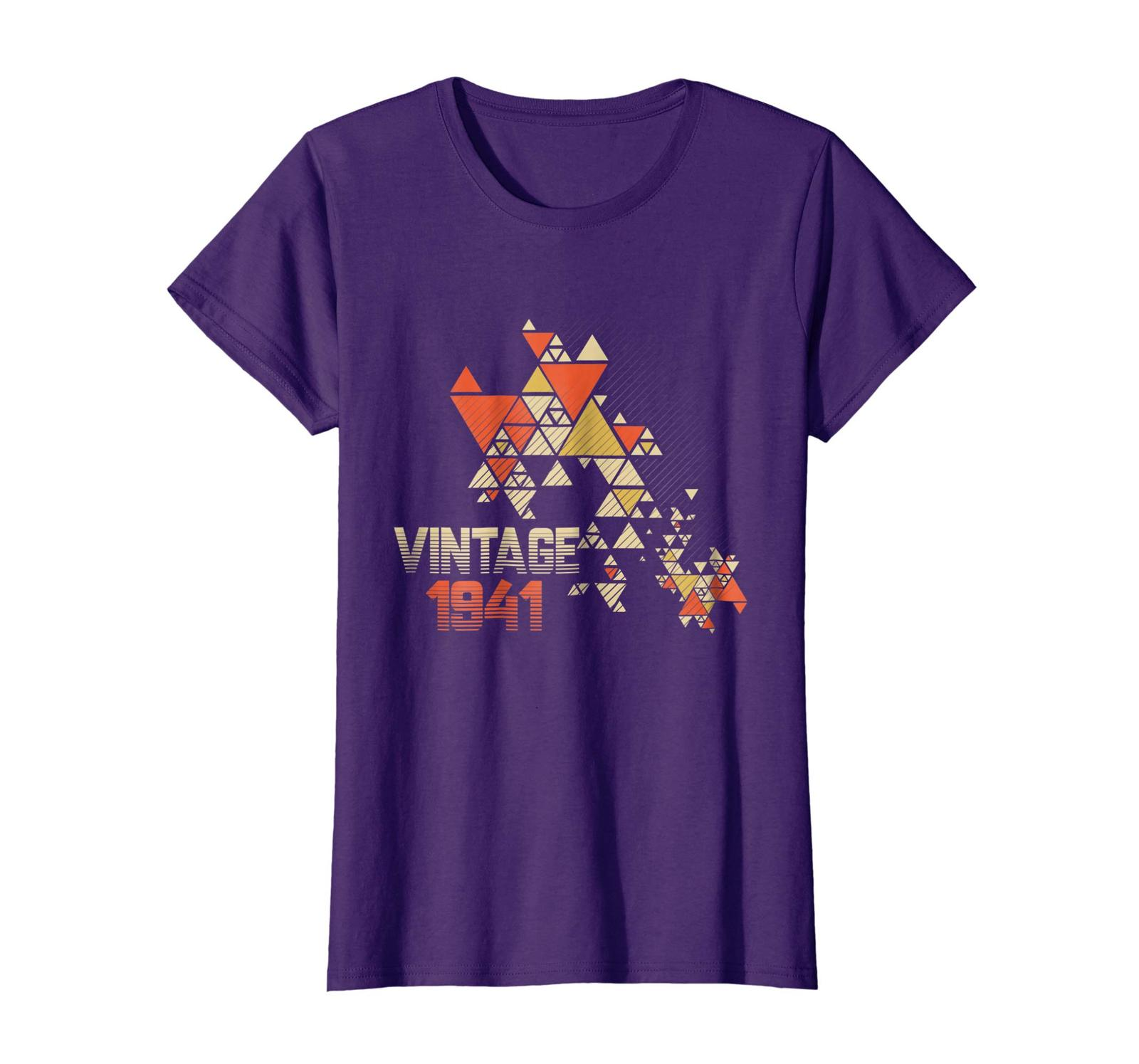 Brother Shirts - Vintage 1941 - 77 Years Old 77th Birthday Gift Shirt Wowen