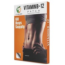 Veru Wellness Vitamin B12 Patch for Energy Boost - 60 Day Supply Vitamin B12 Pat