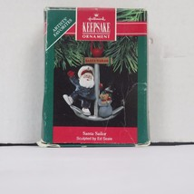 "Hallmark Keepsake Ornament 1991 ""Santa Sailor"" By Ed Seale - $11.65"