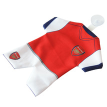 Arsenal F.C. Cloth Mini Kit Car Hang Up two sided with rubber suction pad - $33.30