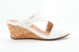 Abeo Lexi Sandals Wedges White  Women's Size 9 Neutral Footbed ( EPB )3905 - €82,28 EUR