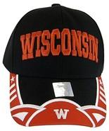 Wisconsin Men's Stars & Stripes Adjustable Baseball Cap - $12.95