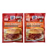 2 McCormick Slow Cookers Sweet & Smoky Chicken Seasoning Mix 1.5 oz DISC... - $9.89