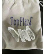 Top Plaza 0.44 lbs Mix Shape Rough Clear Quartz Crystal Healing Natural ... - $17.45