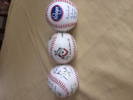 THREE COLLECTIBLE BASEBALLS.  DETROIT TIGERS/KROGER, TONY THE TIGER KELL... - $9.50