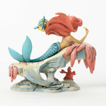 "6.25"" ""Dreaming Under the Sea"" Little Mermaid - Jim Shore Disney Traditions image 4"