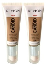 Lot of 2, Revlon PhotoReady Candid Anti-Pollution Foundation 440 Caramel - $9.24
