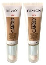 Lot of 2, Revlon PhotoReady Candid Anti-Pollution Foundation 440 Caramel - $9.24