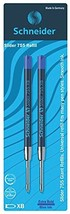 Schneider Slider 755 XB Ballpoint Pen Refill, Blue, Pack of 2 175693 - $8.32