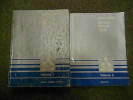 1988 Mitsubishi Galant Service Repair Shop Manual Factory Feo Book 88 2 Vol Set - $23.72