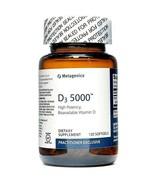 D3 5000 IU High Potency Bioavailable Vitamin D Metagenics 120 Softgels  - $44.55