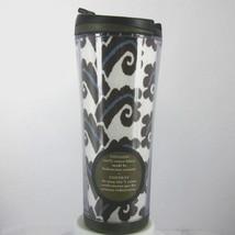 STARBUCKS COFFEE COMPANY 2007 Plastic Travel Tumbler 16 oz Indonesian Fa... - $28.63