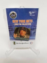 New York Mets 2005 Pin Collection Kazuo Matsui #25 NY Post New - $4.70