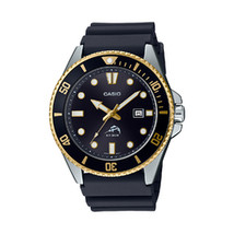 Casio Men's Diver Inspired Black Resin Strap Watch - $72.43