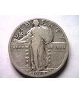 1928 STANDING LIBERTY QUARTER FINE F NICE ORIGINAL COIN BOBS COINS FAST ... - $12.00