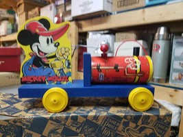 Classic Limited Edition Mickey Mouse Choo Choo Train Fisher Price Reprod... - $59.35