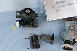 1999 Mercedes SLK230 Ignition Switch Skreem Door Trunk Glovebox Lock Key Fob ECU image 4