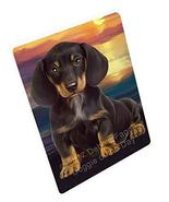 Dachshund Dog Art Portrait Print Woven Throw Sherpa Plush Fleece Blanket... - $88.11