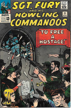 Sgt. Fury and His Howling Commandos Comic Book #21, Marvel 1965 FINE+ - $27.98
