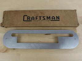 Vtg Craftsman Table Saw Dado Insert Plate P/N 9-2405 Genuine Part - $39.59