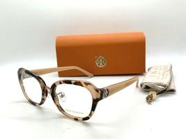 Tory Burch TY 2089 1351 PEACH TORTOISE 53-19-140MM Eyeglasses Frame /CASE - $77.57